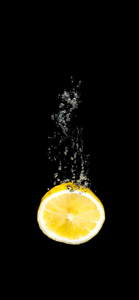 水果 柠檬 维C 特写