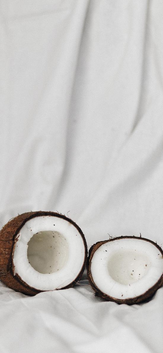 水果 椰子 香甜 白色