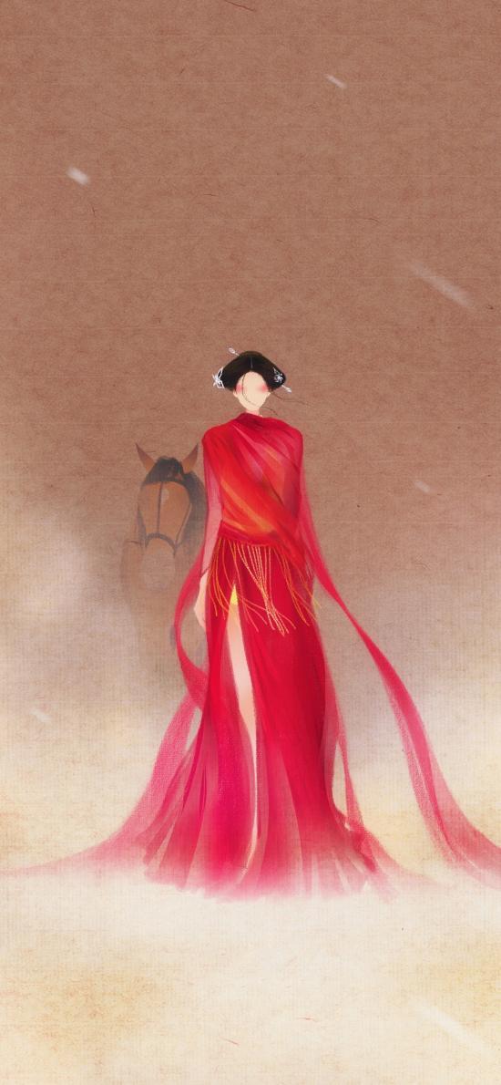 传闻中的陈芊芊 手绘 古风 呼葱觅蒜