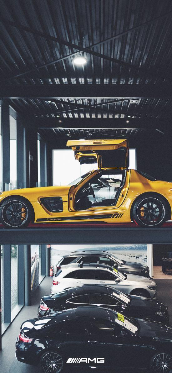 奔驰 超级跑车 炫酷 豪车 AMG