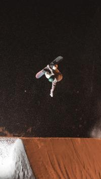 休闲运动 滑板 星空 夜景