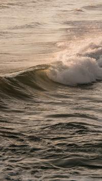 大海 浪花 翻涌 海水