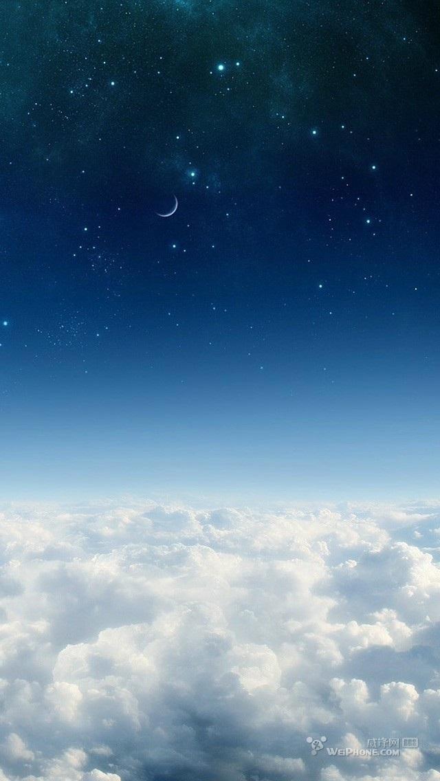 qq唯美皮肤 美丽的天空sky图片