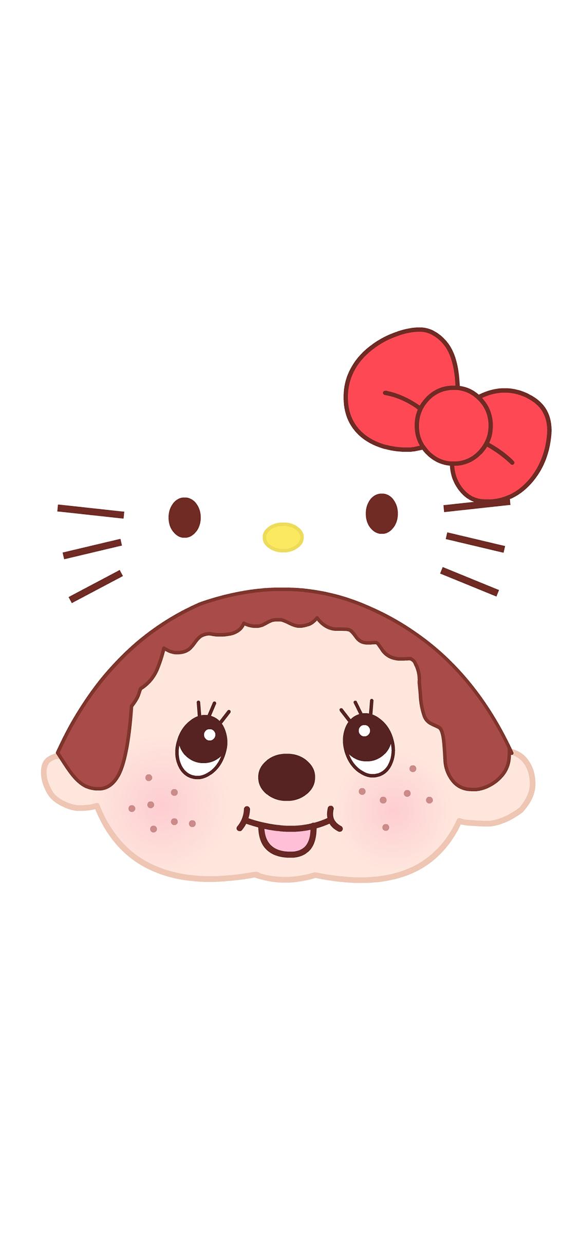 蒙奇奇Kitty猫hello kitty 可爱卡通苹果手机高清