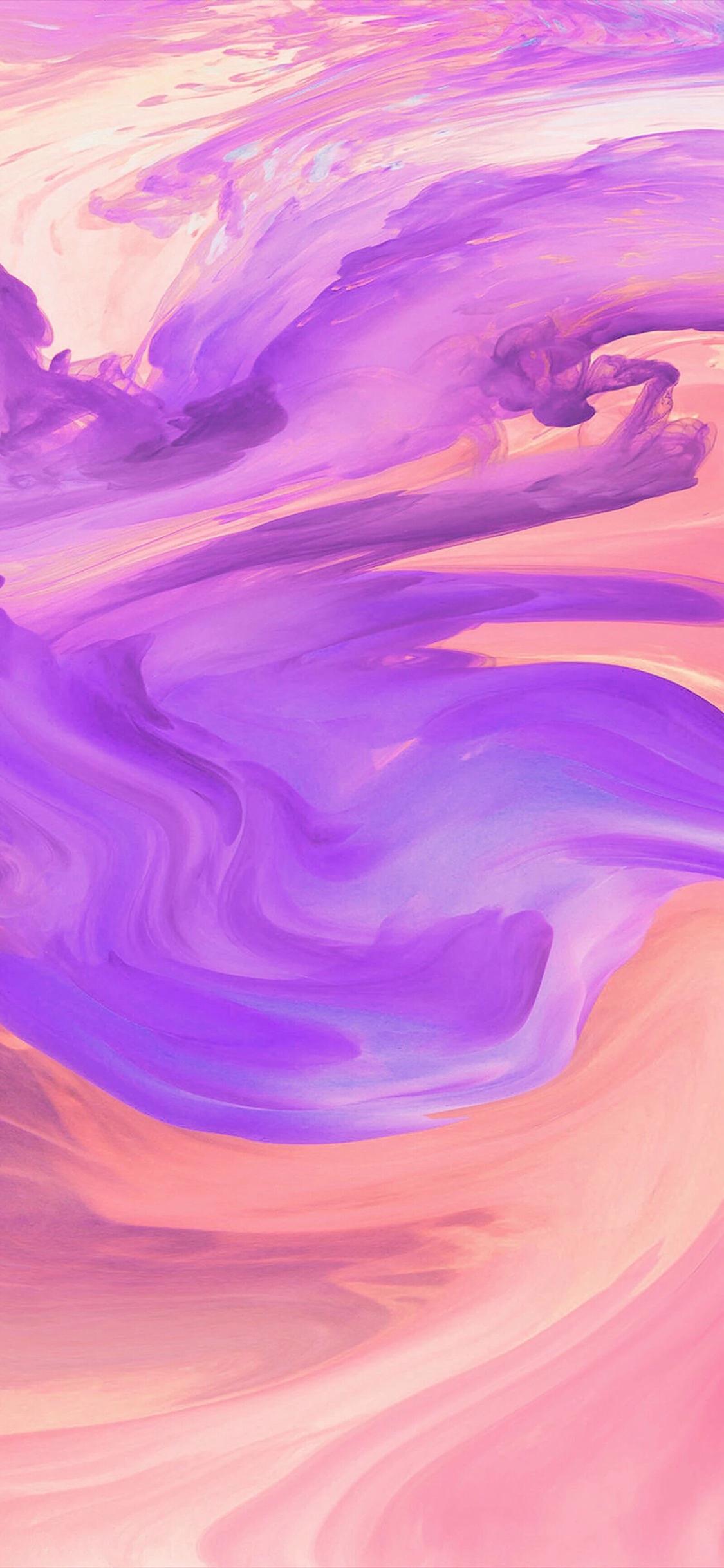 色彩渲染紫色黄色苹果手机高清壁纸1125x2436 Betway手机版 首页