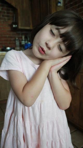 小美女 混血 萌娃