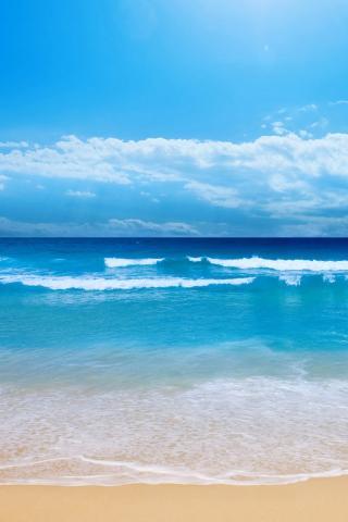 大海沙滩 风景
