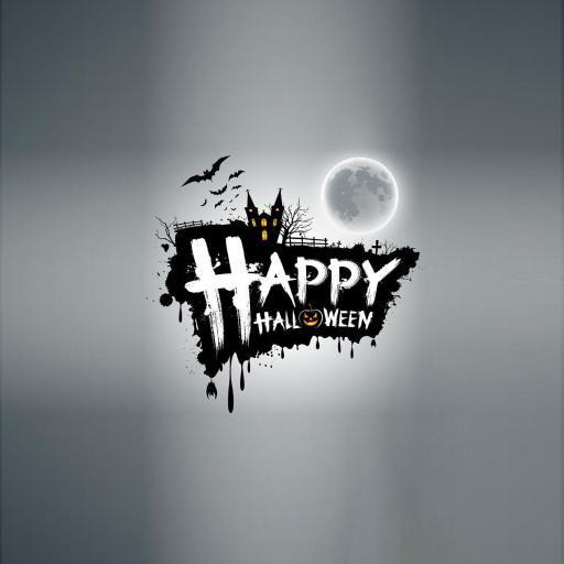 万圣节 节日 蝙蝠 happy