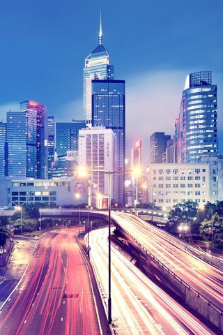 城市 街道 夜景