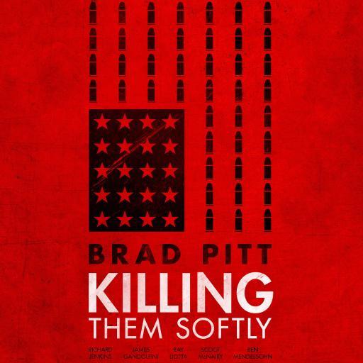 温柔的杀戮 海报 红色