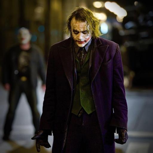 蝙蝠侠 Joker 小丑 黑暗骑士 黑色