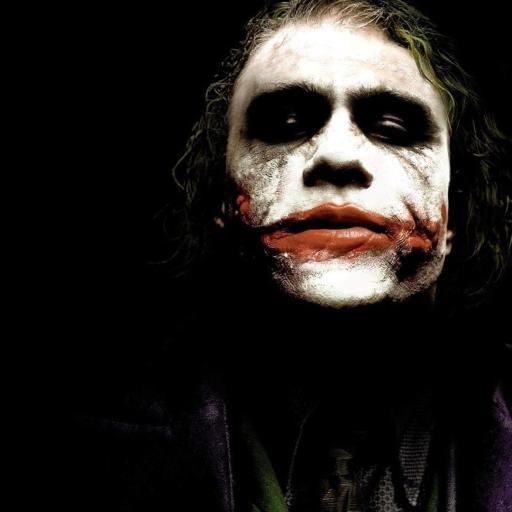 蝙蝠侠 Joker 小丑 黑色
