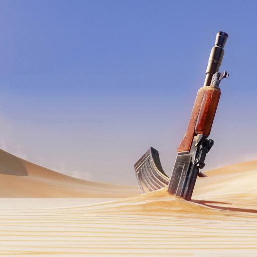 枪 沙漠 战争 军事 紫色
