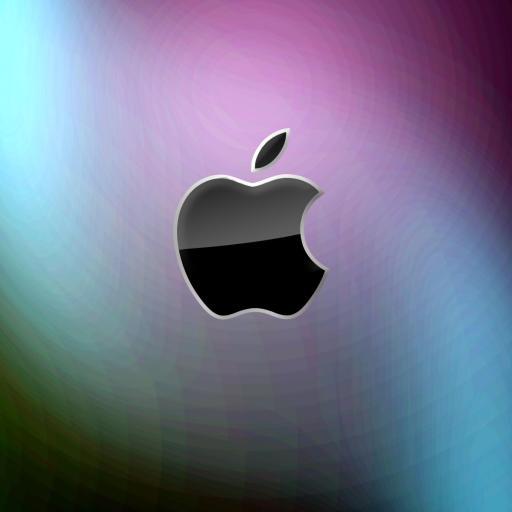 苹果 Apple logo 彩色
