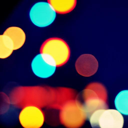 灯光 色彩 其他 蓝色