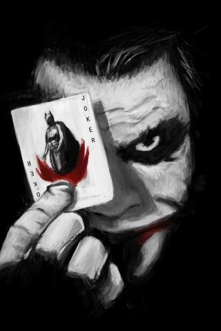 蝙蝠侠 小丑 影视 电影 黑色