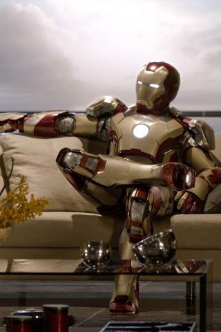 钢铁侠3 影视 3D 钢铁侠 机器人 棕色