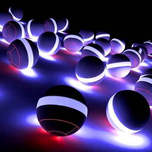 发光 球 炫酷 创意