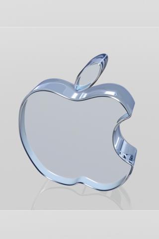 苹果 水晶 科技 灰色