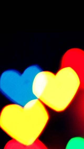 iPhone5高清壁纸10207003 心心相映 爱情壁纸