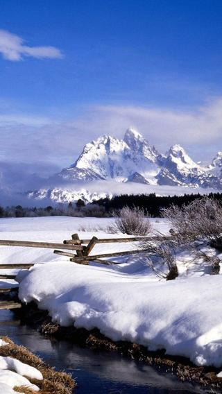 新雪景310294488 四季壁纸 风景壁纸