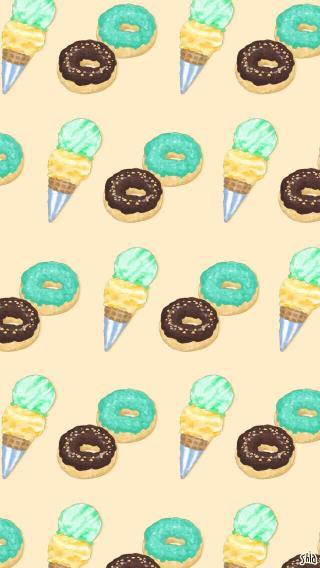 冰淇淋 卡通 插画