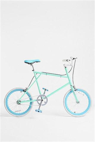 绿色可爱自行车