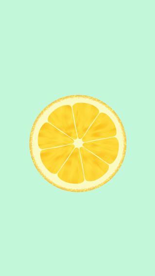 简约 柠檬 清新