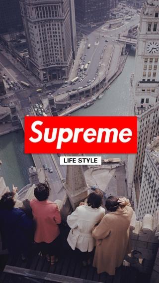 Superme 品牌 潮牌