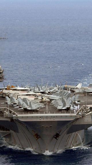 航母 军舰 航空 战斗机 大海