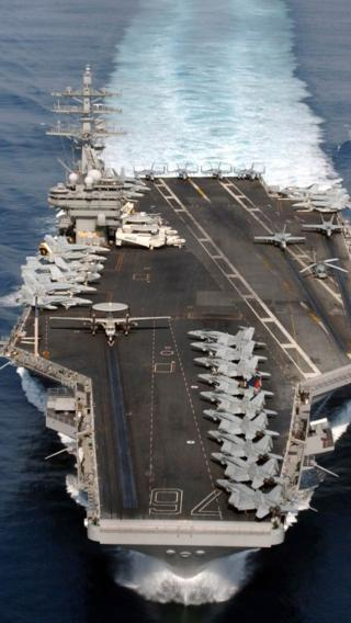 航母 军舰 大海 军事 战斗机