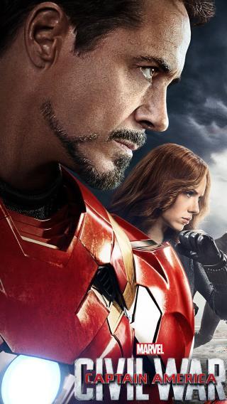 美国队长3 超级英雄 钢铁侠 小罗伯特·唐尼