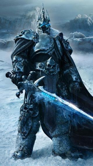 阿尔萨斯 巫妖王 魔兽世界