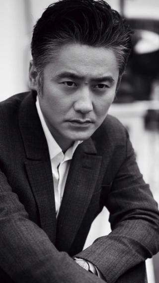 吴秀波 型男 黑白 演员