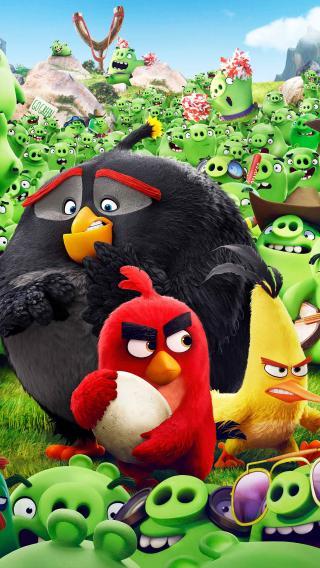 愤怒的小鸟 动画电影 手游 喜剧
