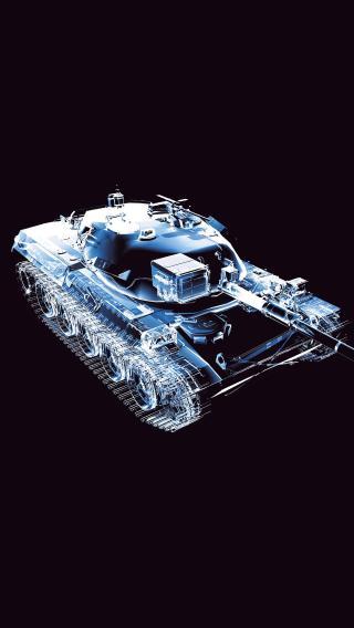 设计图 坦克 军事 载具 线条图