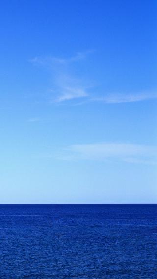 海天一色 海洋 蓝色 大海