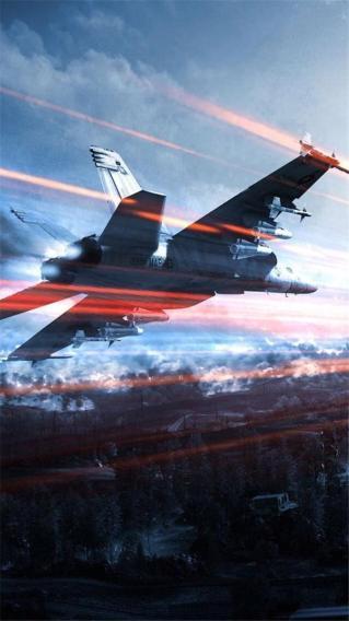 战斗机 天空