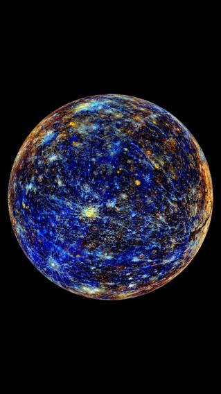 星球 银河 星空 水星