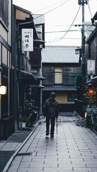 日本 城市 街头 街道