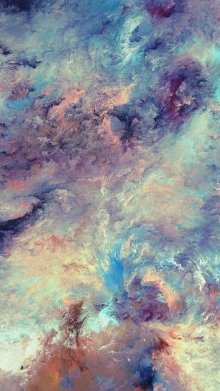云雾 创意色彩 抽象