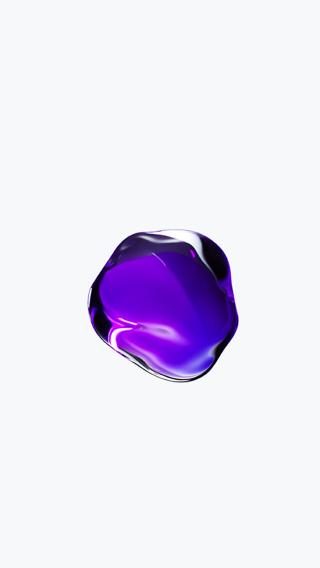 Iphone7 水滴壁纸 紫色