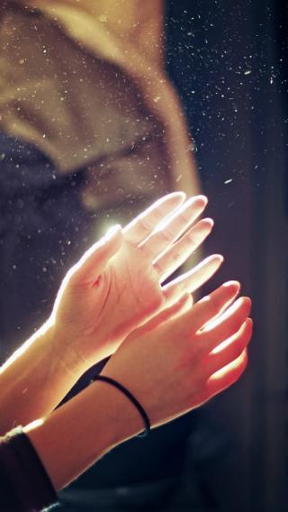 双手 手控 特写摄影