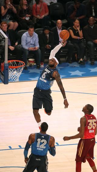 全明星 詹姆斯 NBA 篮球