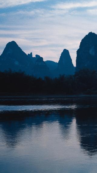 山水 意境 风景 中国风