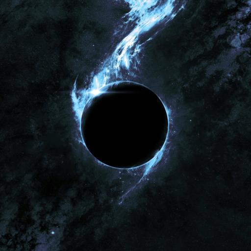 神秘 宇宙星球 黑色