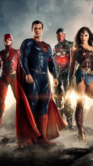 正义联盟 蝙蝠侠 超人