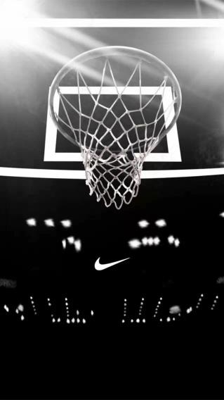 篮球框 NIKE 黑白