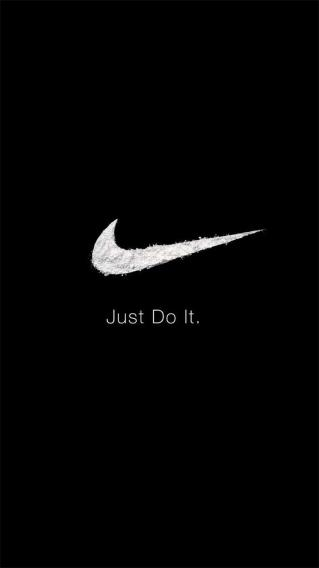 NIKE just do it 黑