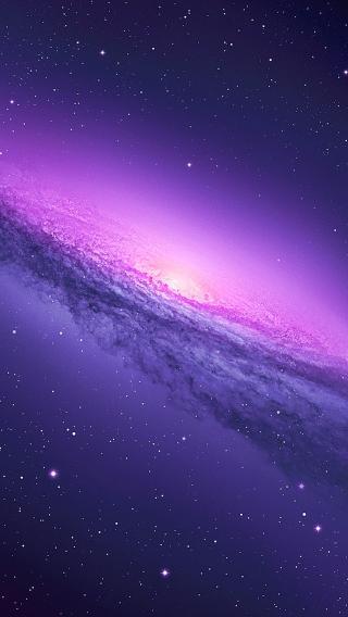 梦幻 星空 紫色 浩瀚 宇宙